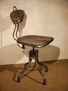 Au Réveil du Temps -  - Chaise D'atelier