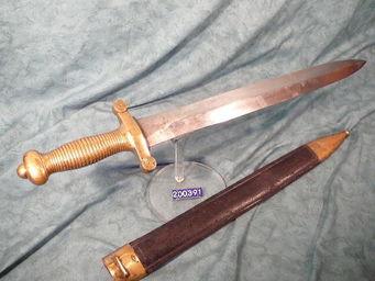 LE HUssARD - glaive infanterie mle 1831 - Dague