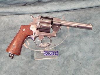 LE HUssARD - revolver lefaucheux 1870 officier - Pistolet Et Révolver
