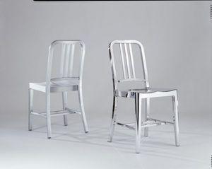 EMECO - 10-06 navy - Chaise De Restaurant