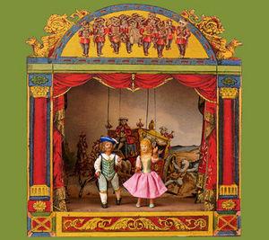 Sartoni Danilo Ravenna Italy - music box - Théâtre De Marionnettes