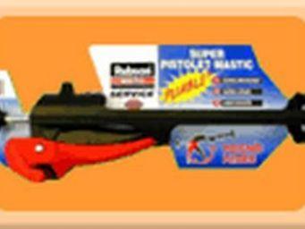 Rubson - super pistolet mastic pliable rubson - Mastic D'étanchéité