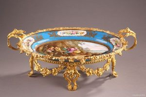 Galerie Atena - coupe en porcelaine - Coupe Décorative