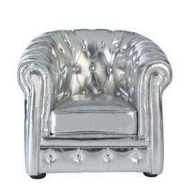 fauteuil enfant argent chesterfield fauteuil enfant maisons du. Black Bedroom Furniture Sets. Home Design Ideas
