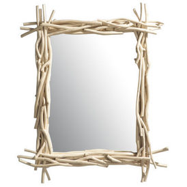 Miroir rivage miroir maisons du monde decofinder - Miroir rond maison du monde ...