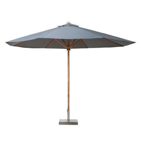 parasol 250 cm rond gris ol ron parasol maisons du monde