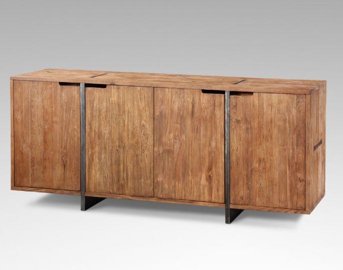 pacitan enfilade naturel kha home design decofinder. Black Bedroom Furniture Sets. Home Design Ideas