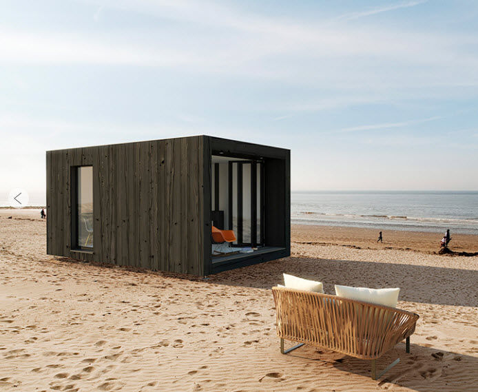 micro housing by atmosph re boischambre atmosphere et bois. Black Bedroom Furniture Sets. Home Design Ideas