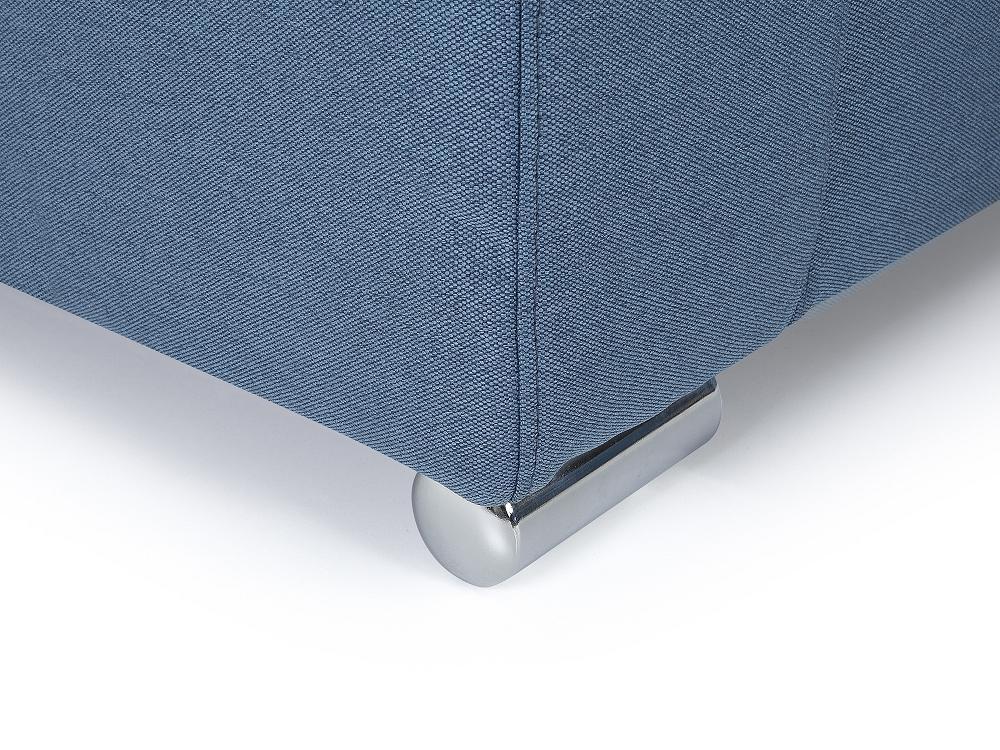 helsinki fauteuil bleu tissu 96x76x72 beliani. Black Bedroom Furniture Sets. Home Design Ideas