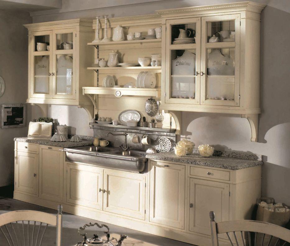 dhialma meuble de cuisine ecru marchi group decofinder. Black Bedroom Furniture Sets. Home Design Ideas