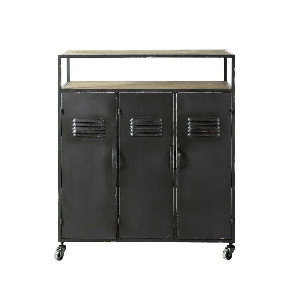 kraft comptoir de bar maisons du monde decofinder. Black Bedroom Furniture Sets. Home Design Ideas
