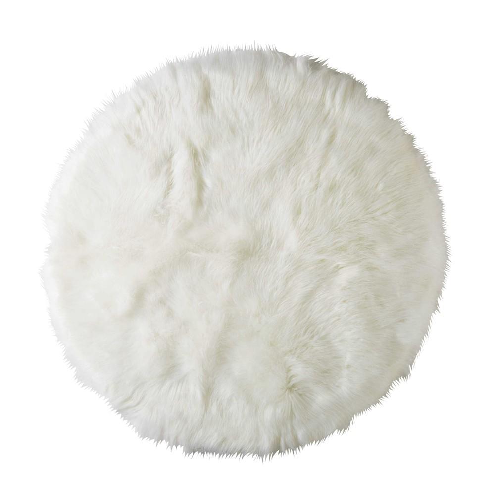 FURIL   Descente de lit   Blanc   MAISONS DU MONDE | Decofinder
