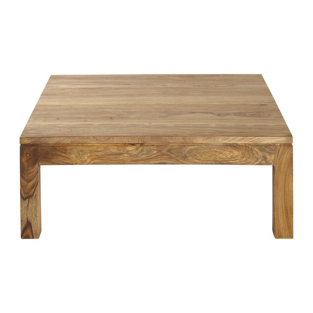 stockholm table basse carr e maisons du monde. Black Bedroom Furniture Sets. Home Design Ideas
