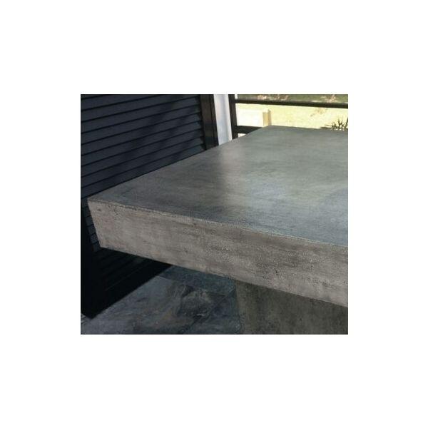 table haute b ton carr e mange debout gris mathi design. Black Bedroom Furniture Sets. Home Design Ideas