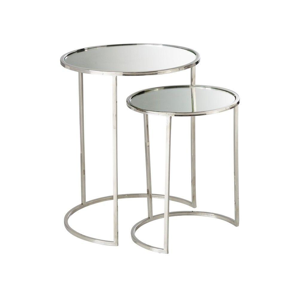 2 bouts de canap gigognes miroirtables gigognes. Black Bedroom Furniture Sets. Home Design Ideas