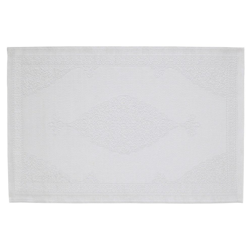 tapis d 39 ext rieur en polypropyl ne blanc 120x180. Black Bedroom Furniture Sets. Home Design Ideas