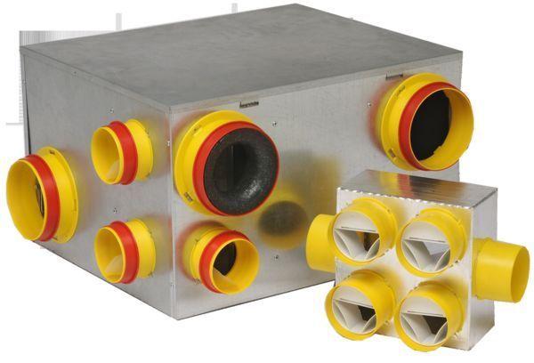 HBH VENTILATION - Ventilateur-HBH VENTILATION-Double flux