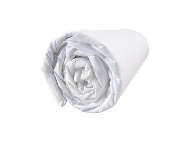 BLANC CERISE - Drap housse-BLANC CERISE-Drap housse - percale (80 fils/cm²) - uni