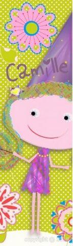 BABY SPHERE - Papier peint enfant-BABY SPHERE-Déco murale Fée Pois