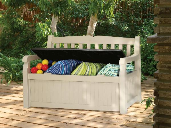 Chalet & Jardin - Fauteuil de terrasse-Chalet & Jardin-Banc garden bench en polypropylène 265l 140x60x84c