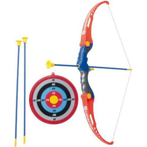PARTNER JOUET - Arc-PARTNER JOUET-Set de tir à l'arc avec cible arc et flèches