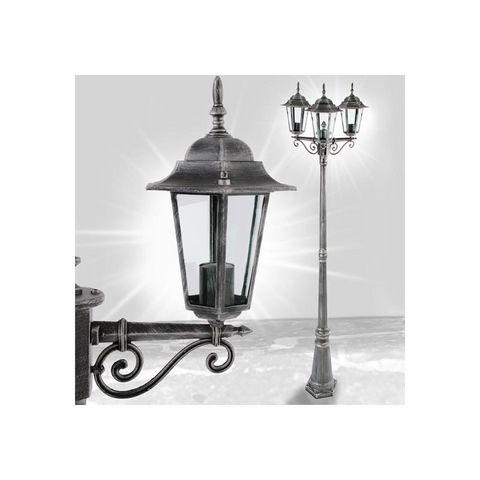WHITE LABEL - Lampadaire de jardin-WHITE LABEL-Lampadaire de jardin éclairage extérieur