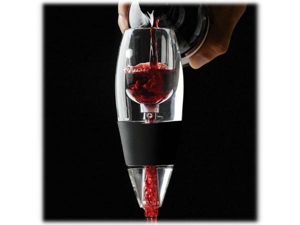 WHITE LABEL - Entonnoir à décanter-WHITE LABEL-Décanteur de vin minute deco maison ustensile cuis