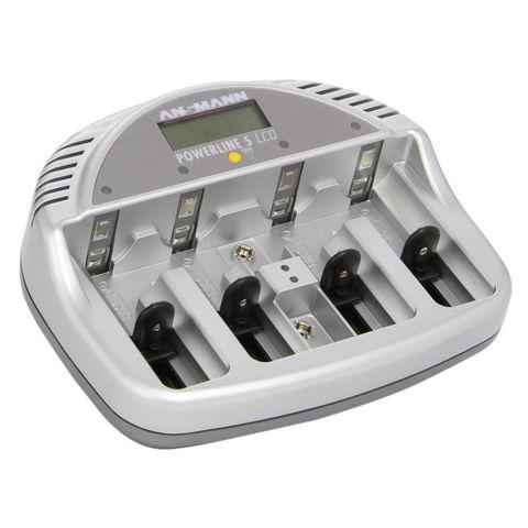 CFP SECURITE - Chargeur pour batterie-CFP SECURITE-Chargeur de piles rechargeables Basic 5 Plus