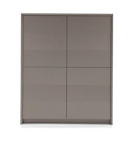 Calligaris - Buffet haut-Calligaris-Buffet PASSWORD de Calligaris grège 4 portes