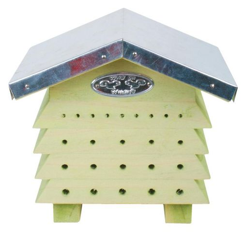 BEST FOR BIRDS - Ruche-BEST FOR BIRDS-Refuge à abeilles en bois et zinc