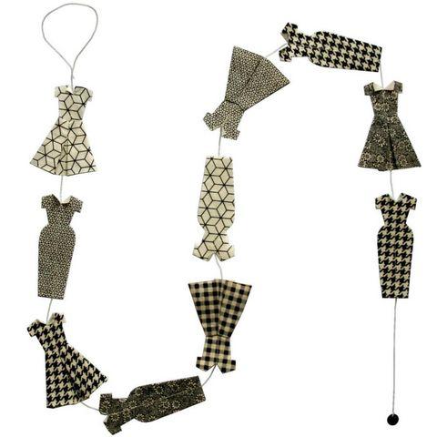 Lamali - Guirlande-Lamali-Guirlande fashion en papier Lokta 150cm Modèle 2