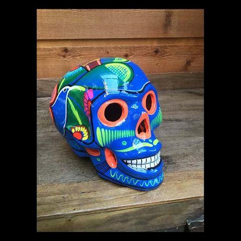 LA CABANE DE L'OURS - Crâne décoratif-LA CABANE DE L'OURS