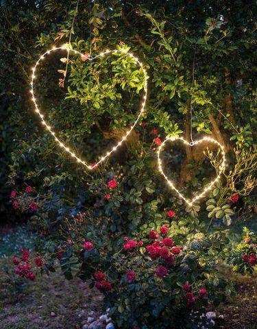 FIORIRA UN GIARDINO - Lampe de jardin à LED-FIORIRA UN GIARDINO-Coeur