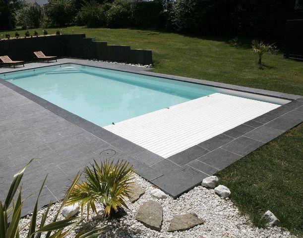 CARON PISCINES - Couverture de piscine automatique-CARON PISCINES--Smart Cover