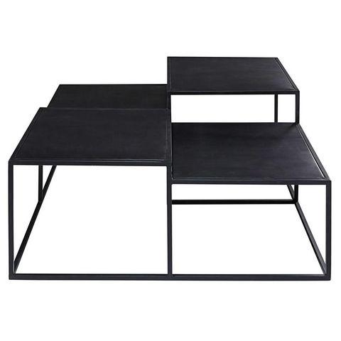 ediso table basse carr e maisons du monde decofinder. Black Bedroom Furniture Sets. Home Design Ideas
