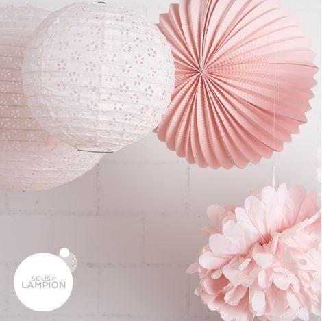 SOUS LE LAMPION - Lampion-SOUS LE LAMPION-Pink party