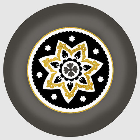 Design Atelier - Assiette décorative-Design Atelier-Golden Star
