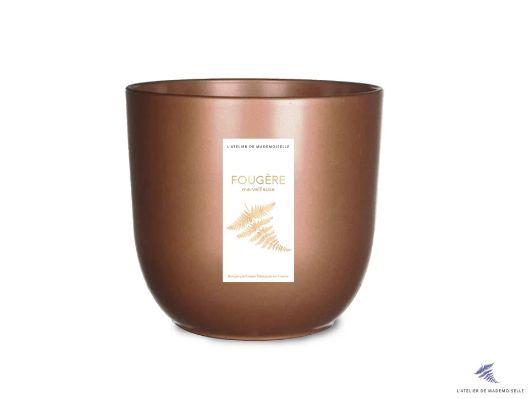 L'ATELIER DE MADEMOISELLE - Bougie parfumée-L'ATELIER DE MADEMOISELLE-Fougère Merveilleus