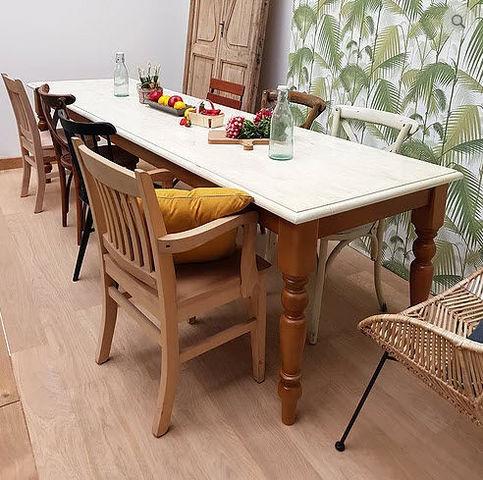 LA BOUTIQUE MAISON ROCHES - Table de repas rectangulaire-LA BOUTIQUE MAISON ROCHES