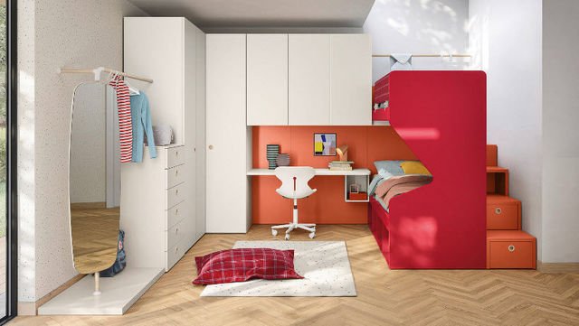 HAPPY HOURS - Chambre enfant 4-10 ans-HAPPY HOURS-Nidi-'