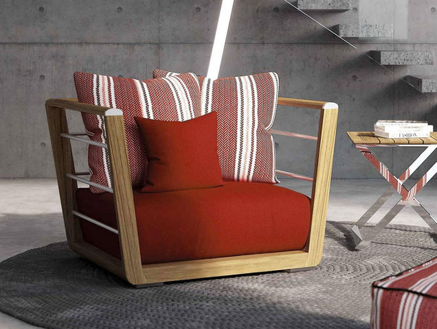 ITALY DREAM DESIGN - Fauteuil de jardin-ITALY DREAM DESIGN-Abbraccio