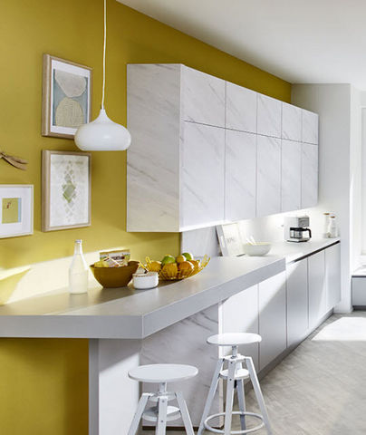 Ixina - Cuisine équipée-Ixina-Vogue marbre