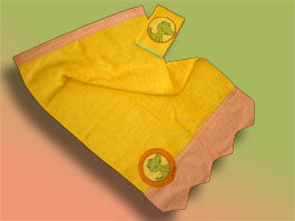 CréaFlo - Serviette de toilette enfant-CréaFlo-serviette enfant SAVANE 3 ans et +