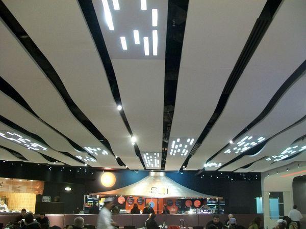 SOLTTO - Dalle de plafond-SOLTTO-Plate, lumineuse et/ou ondulée