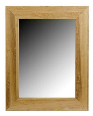 MEUBLES ZAGO - Miroir-MEUBLES ZAGO-Miroir rectangle frêne Essentielle