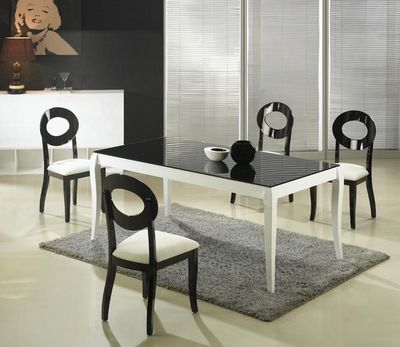 MEUBLEZ.COM - Table de repas rectangulaire-MEUBLEZ.COM-HASTING