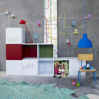 Qubing - Chambre enfant 4-10 ans-Qubing-rangement