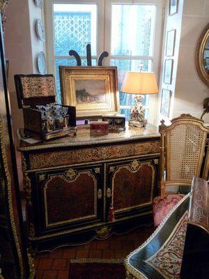 Art & Antiques - Pantalonnière-Art & Antiques-Commode/Pantalonnière/Secrétaire en marqueterie BO
