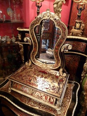 Art & Antiques - Barbi�re-Art & Antiques-Barbi�re en marqueterie Boulle