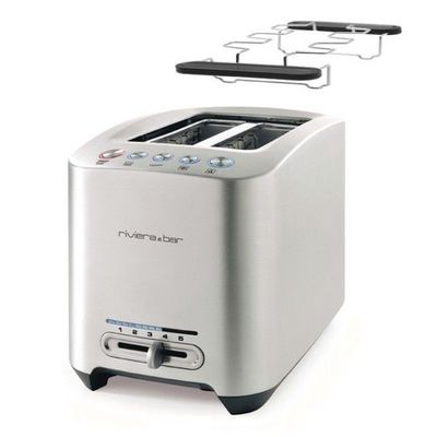 RIVIERA & BAR - Toaster-RIVIERA & BAR-GRILLE-PAIN 2 TRANCHES